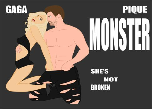 Gaga Pique - Monster by Mister-ESS