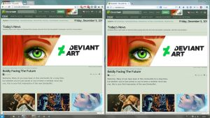 deviantART old logo FIX by Nidrax