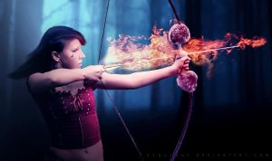 Flame Arrow by byback92