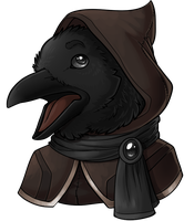 Crow by Lucieniibi