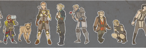 DRAGON AGE GUYSSS by manofmachine