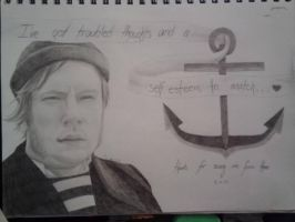 Patrick Stump 'What a Catch' by EastyBug