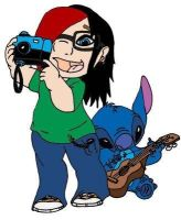 Katie-Laine and Stitch by Katie-Laine