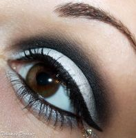 White Smokey Eyes by Talasia85