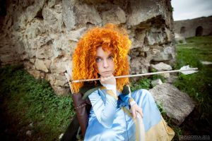 Merida, arrow time by shua-cosplay