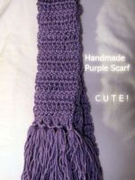 Light Purple scarf by SewAnimated
