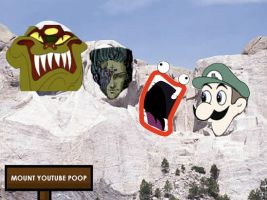 Mount Youtube Poop by SapphireKyogre