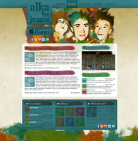 Alka Jessie Website Concept 1 by Lumzor