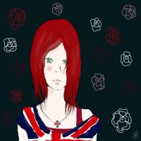 Bored redhair by Mia-Lapera