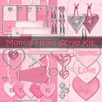 Monti's Heart Scrap Kit by justmonti
