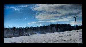 Winter Landscape by PiTRiS
