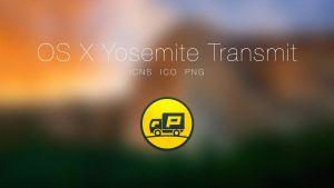 OS X Yosemite Transmit App by Ziggy19