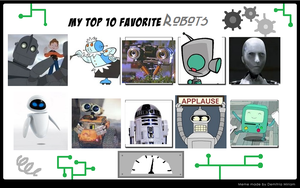 My Top 10 Favourite Robots by longshot09
