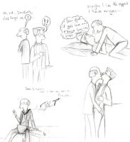 Burnsmithers Sketchdump...rated M by harrimaniac27