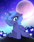 Luna by PinkamenaScratch