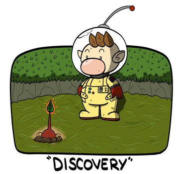 Pikmin Discovery by WaywardDoodles