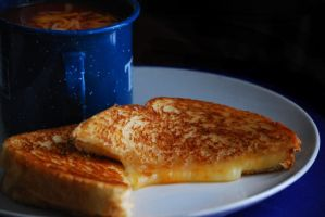 Grilled Cheese n Tomato Soup 1 by brandychristine1987