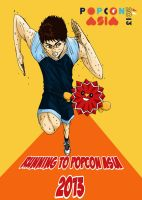 Running to POPCON ASIA 2013 by SaE-maru