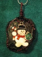 Sub-Anthracite (Coal) Pendant / Frosty Charm by ItsAWrap