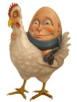 Chicken and the egg by sgibb