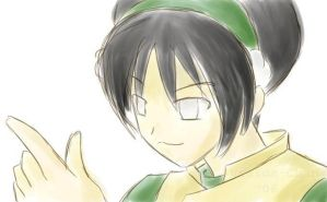 OC: Toph Bei Fong by SLiDER-chan