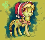 Young Granny Smith by CaramelFlower