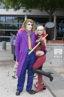 Harley and Mr. J by RaindropCosplay