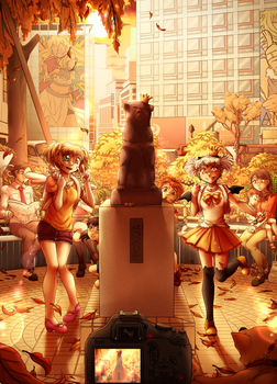 Aniway 2016 - Meet me at the Hachiko Statue by Egao-ho