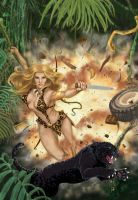 Sheena Queen of the Jungle by greatbigfan