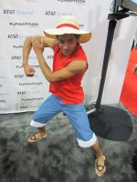 Classic Luffy by tousen-kaname