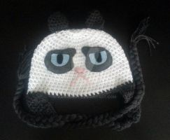 Tard the Grumpy Cat Beanie by AAMurray