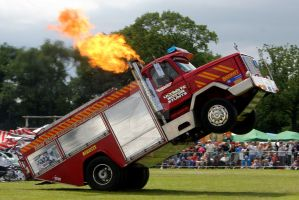 Wheelie Fire Truck 04 by gopherboy76