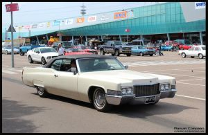 1970 Cadillac Coupe De Ville by compaan-art