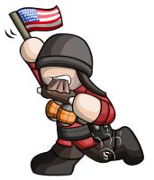 Soldier Chibi by RedPawDesigns