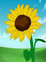 How To Draw A Sunflower by a-watt89