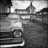 Composition with a car by RafalBigda