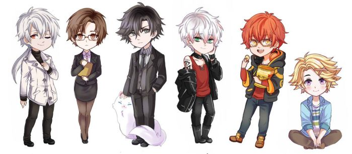 MM chibs by MiloDish