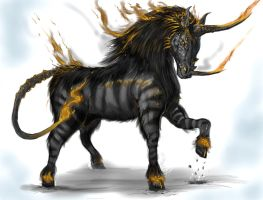 Twisted Unicorn by Davesrightmind