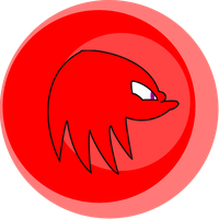 Knuckles Head-go Circle by Jakeneutron
