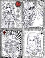 Dragon Age II Card Collodge by draconiangem