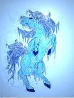 Frost Horse by Somnium-Draco