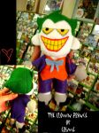 Joker Plushie by KidXister