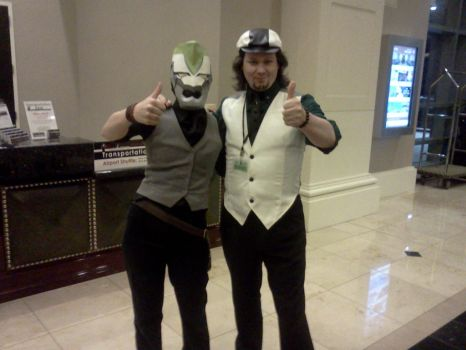 Cosplay - Naka-Kon 2012 - Me as Kotetsu w Fan by Gothproxy
