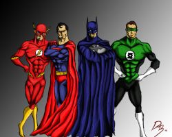 The Justice League of America by dave365