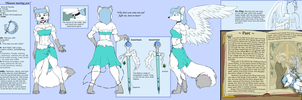 Wing De Fiancee Reference Sheet by Lyritwolf