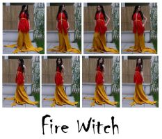 fire witch 1 by syccas-stock