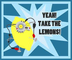 Yeah, Take The Lemons. by ApertureEyes