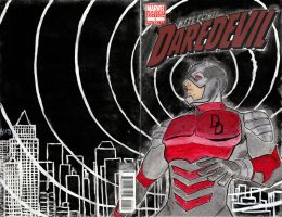 Sketch Cover - Daredevil by s133pDEADart
