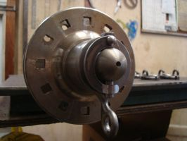 Cannon spindle hardware by foundry-wolf