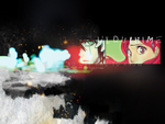 Bleach Wallpaper -UlquiHime- by Out-of-the-rain